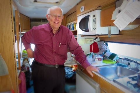 pensioner, camper, camping, truck,